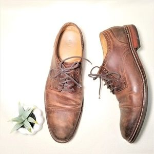Cole Haan Antiqued Leather Oxfords Sz 13